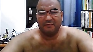 Colombian daddy  show his cock