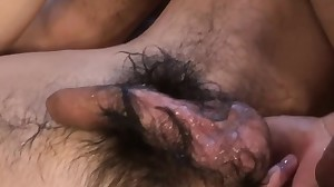 Gay asian cums tugging