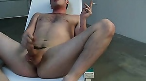 Chase wank his dick and fucking his hungry ass..