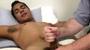 He uses male masturbation machine gay porn and..