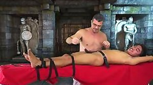 Japanese Boy Nathan Tied and Tickled