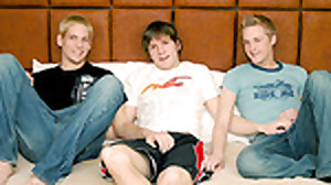 Kameron, Mathieu and Reed without a condom!