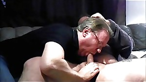 Older swedish dude hungdad sucking five swedish..