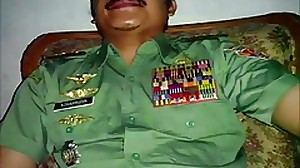 Warm moustache army officer daddy in Uniform..