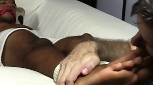 White men nude feet fag first time Mikey Tied Up..