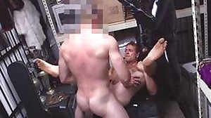 Straight guy is plowed by a super-naughty stud..