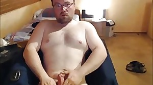 Wank webcam cumshot