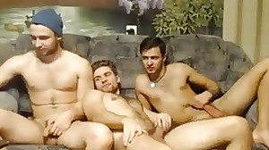 3 Horny Russian Friends Go Gay 1st Time On Cam