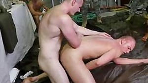 Russian gay army male hook-up video and  army..