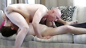 Gay sissy faggot Mike gives blowjob deepthroats..