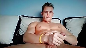 German Handsome Man With Nice Big Hard Cock On Cam