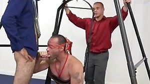Straight boys first gay blow job xxx Teamwork..