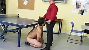 Straight boys piss together gay CPR fuckstick..