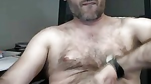 Masturbating Turkey-Turkish Daddy Hard Aliosman..