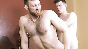 Big rod son oral sex and cumshot