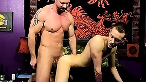 Sumo gay anal porn After Chris BJ\'s his cock,..