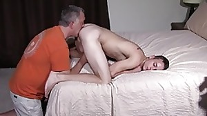 Wondrous Straight Teen Fucked By Daddy