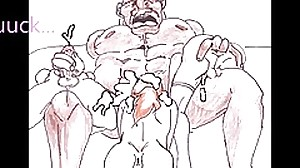 monster black daddy fuck 3 white boys animated