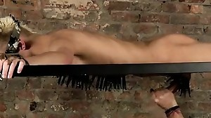 Gay first time restrain bondage and fuck male..