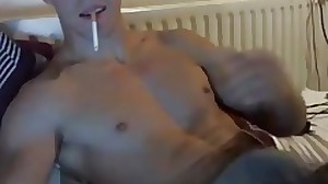 STRAIGHT BG WEBCAM WANKER