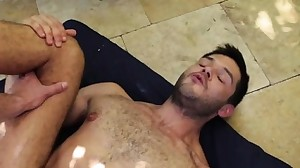 Big dick gay flip flop with creampie