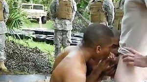 Gay horny male soldiers movie very first time..