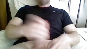 Str8 Biz Daddy Cums On Cam Again