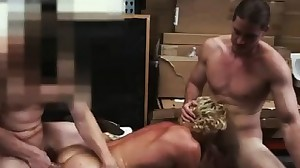 movies of gay gang bang Blonde muscle surfer..