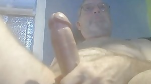 Daddy Slowhand60 with cum