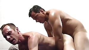 Kinky hunk enjoys to thrust his fat cock in some..