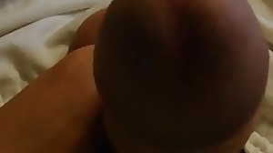 Teen boy plays with his cock and shoots a load