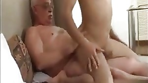 Providing Daddy a good fucking after a long day..