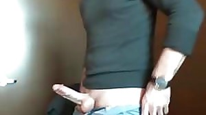 dad at the office with his boner out