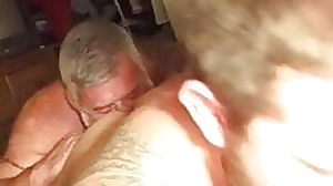 Parent enjoy Delicious breakfast hairy ass