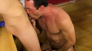 Jizz leaking from gay mans ass movietures Blake..