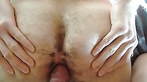 German daddy fuck hairy twink fuck-hole