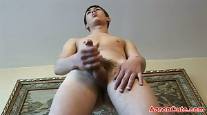 Ultra-Kinky and alluring dude jacking off