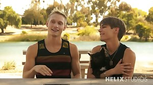 Real Web Cam: Max Carter and Kyle Ross