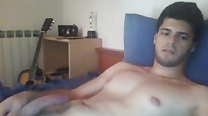 Greek Handsome Boy With Big Cock & Smooth..