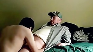 Sensual lovemaking session with a married dad