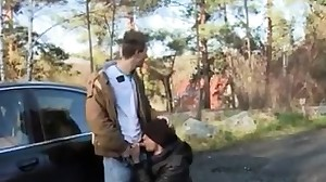 Boy show penis in public gay Outdoor Anal Fun